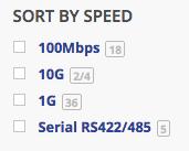Media Converter Speeds