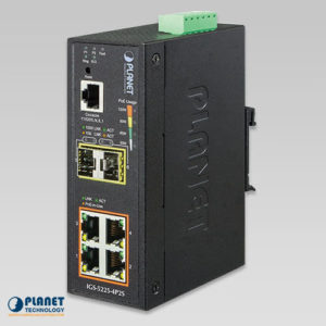 IGS-5225-4P2S Industrial PoE Switch