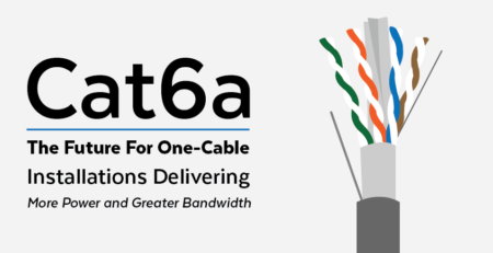 Cat 6A | The Future For One-Cable Installations Delivering More Power and Greater Bandwidth