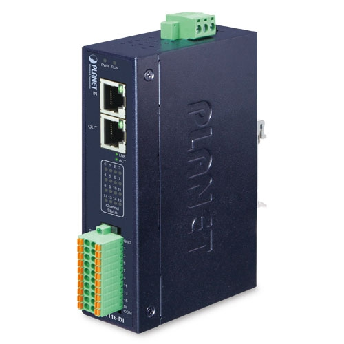 IECS-1116-DI Industrial EtherCAT Slave I/O Module with Isolated 16-ch Digital Input