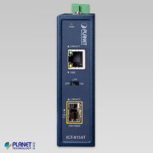 IGT-815AT Industrial Media Converter Front