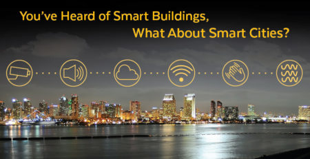 You've Heard of Smart Buildings, What About Smart Cities?
