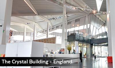 The Crystal Building, Inside - England
