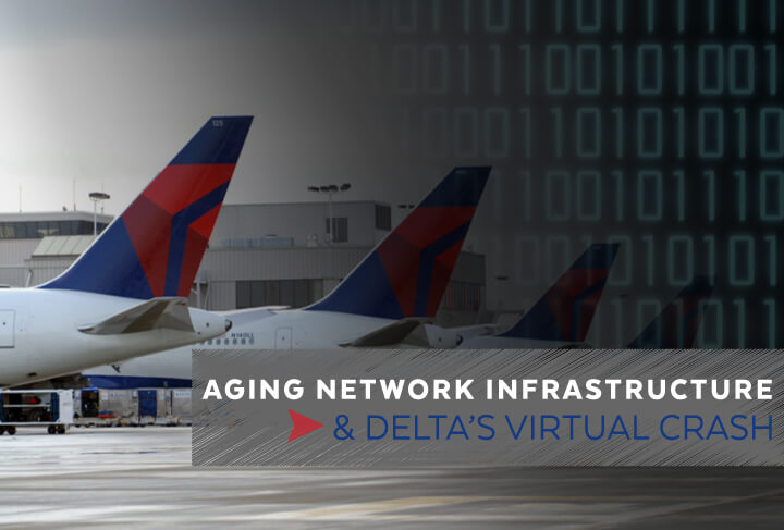 Aging Network Infrastructure and Delta's Virtual Crash