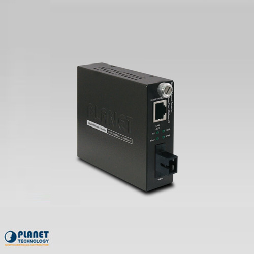 GST-806B60 10/100/1000TX to 1000FX WDM Smart Media Converter (SM, SC, 1550nm, 60km)