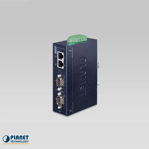 ICS-2200T Industrial 2-Port RS232/RS422/RS485 Serial Device Server