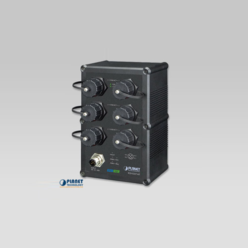 IGS-5227-6T Industrial IP67-rated 6-Port 10/100/1000T Managed Ethernet Switch (-40~75C)