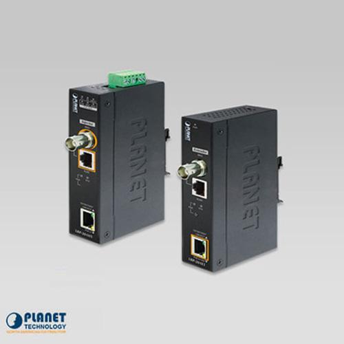LRP-201-KIT Industrial 1-Port 10/100/1000T Ultra PoE + 1-Port Coax/UTP Long Reach PoE Kit (LRP-201ET + LRP-201HT)