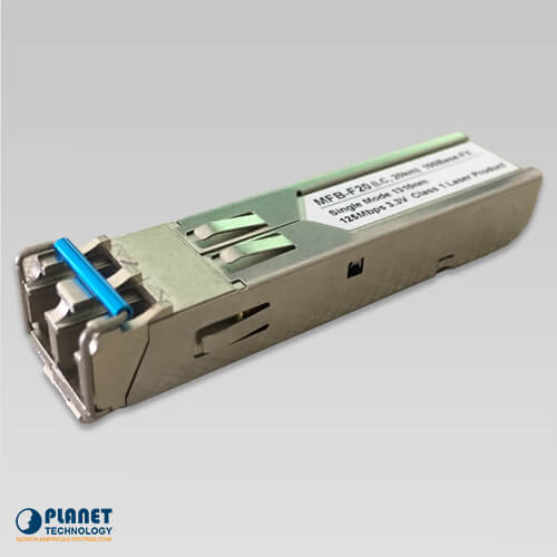 MFB-F20 Single Mode, 100Mbps SFP Fiber Transceiver -  20KM