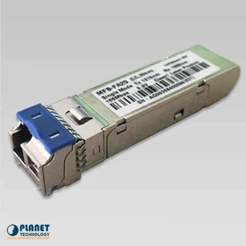 MFB-FA20 WDM Tx-1310, 100Mbps SFP Fiber Transceiver - 20KM