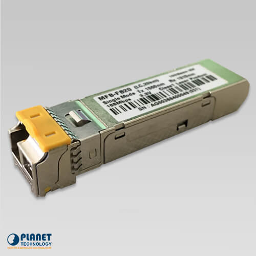 MFB-FB20 WDM Tx-1550, 100Mbps SFP fiber transceiver  - 20KM