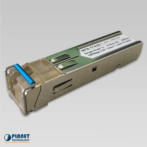 MFB-TSA SFP-Port 100BASE-BX Transceiver (Multi-mode/WDM,TX:1310nm RX:1550nm / DDM) - 2KM (-40~75°C)