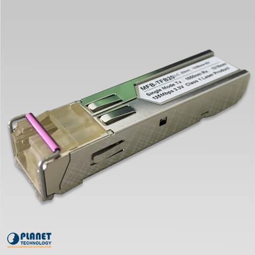 MFB-TFB20 WDM Tx-1550, 100Mbps SFP Fiber Transceiver - 20KM