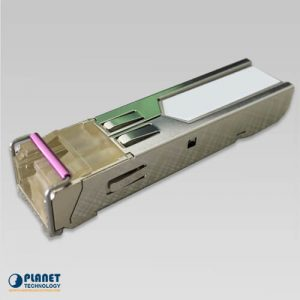 MFB-TFB60 WDM Tx-1550, 100Mbps SFP fiber transceiver (-40 to 75C) – 60KM DDM Supported