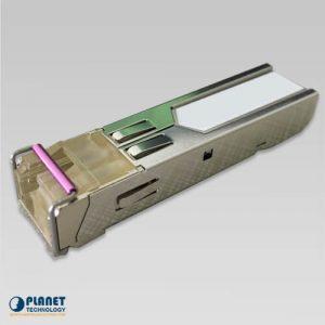 MFB-TFB60 WDM Tx-1550, 100Mbps SFP fiber transceiver (-40 to 75C) – 60KM DDM Supported