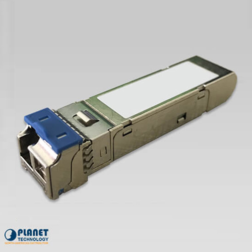 MGB-TLA80 SFP-Port 1000 BASE-BX (WDM, TX:1490nm) mini-GBIC module - 80KM (-40~75C)