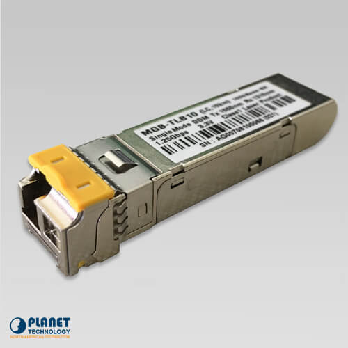 MGB-TLB10 Mini GBIC WDM TX1550 Module, DDM Supported - 10KM