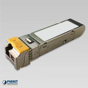 MGB-2GLB20 2.5G SFP Transceiver (Single mode WDM, TX:1550nm RX:1310nm, DDM, 0~70°C) – 20km