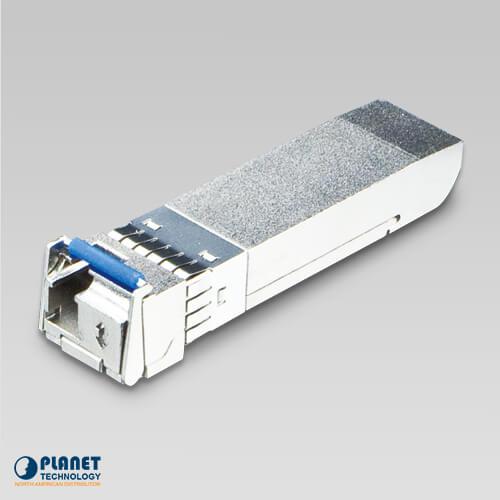 MTB-TLA60 10G SFP+ Fiber Transceiver (WDM, TX:1270nm, RX:1330nm, DDM) - 60KM (-40~75C)