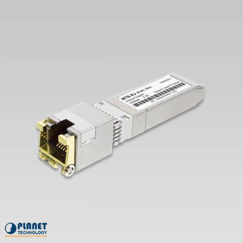 MTB-RJ 10GBASE-T SFP+ Copper RJ45 Transceiver