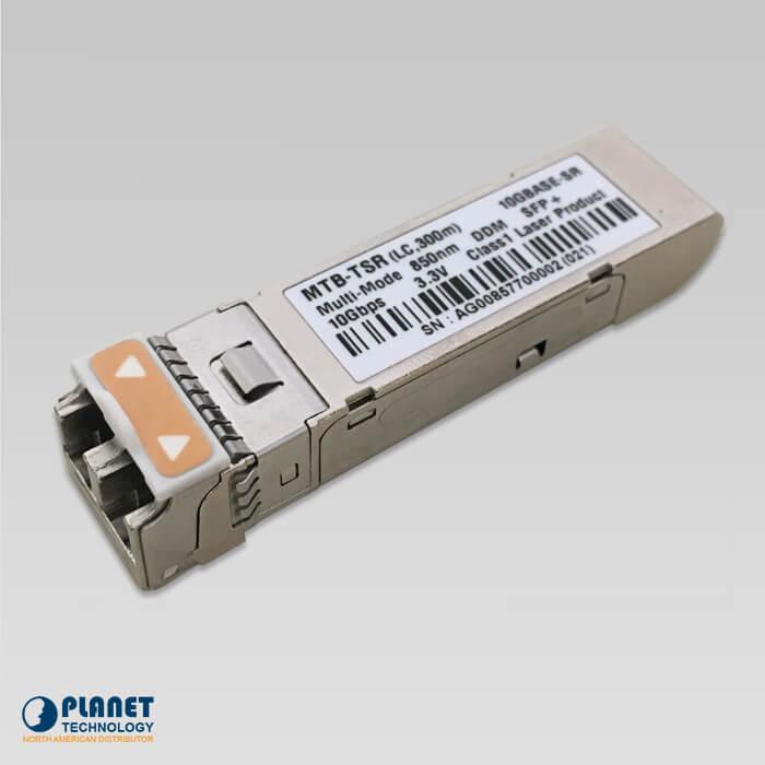 MTB-TSR 10G SFP+ Fiber Transceiver (Multimode, DDM, -40~75C) -300M