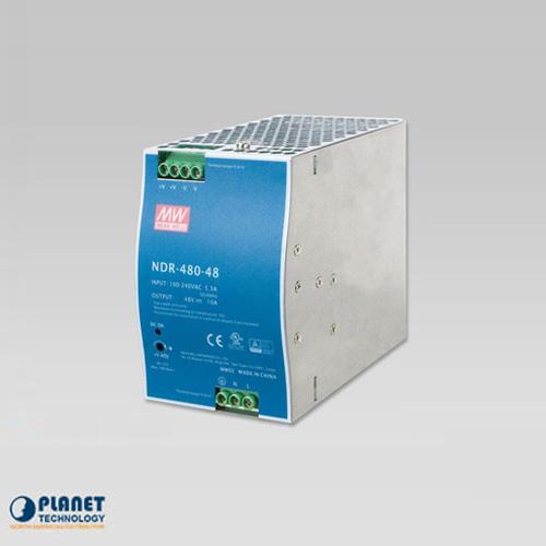 PWR-480-48 48V, 480W Din-Rail Power Supply