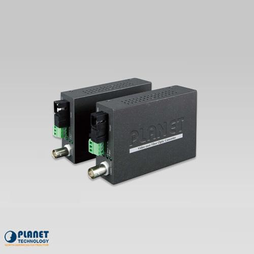 VF-106G-KIT 1-Channel 4-in-1 Video over Gigabit Fiber Bundle Kit (VF-106G-T + VF-106G-R)