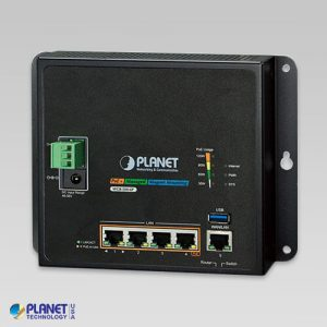 WGR-500-4P Industrial PoE Router