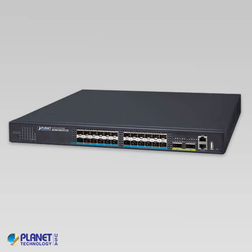 XGS-5240-24X2QR Layer 2+ 24-Port 10G SFP+ + 2-Port 40G QSFP+ Stackable Managed Switch