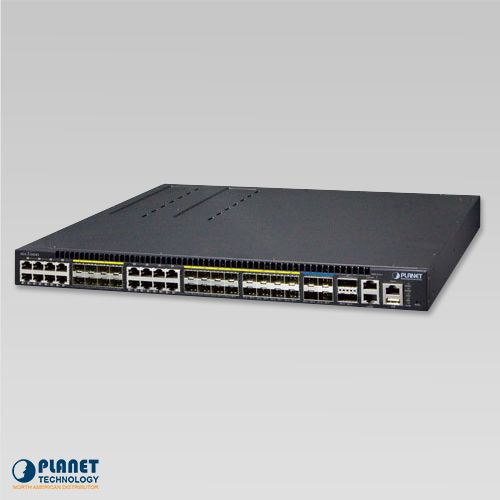 XGS3-24242 Layer 3 24-Port 100/1000X SFP + 16-Port shared TP + 4-Port 10G SFP + Stackable Managed Switch