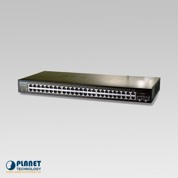 FGSW-4840S Web Smart Switch 48-Port 10/100Mbps   4G