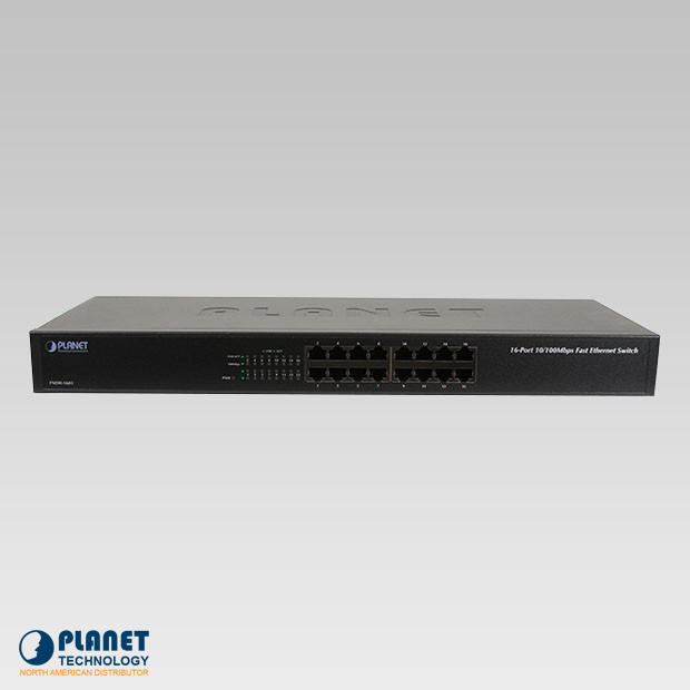 FNSW-1601 Fast Ethernet 16-Port 10/100Mbps Switch