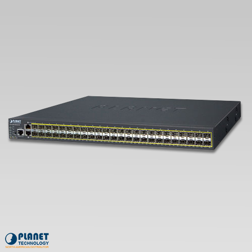 GS-5220-46S2C4X L2+ 46-Port 100/1000BASE-X SFP + 2-Port Gigabit TP/SFP + 4-Port 10G SFP+ Managed Switch