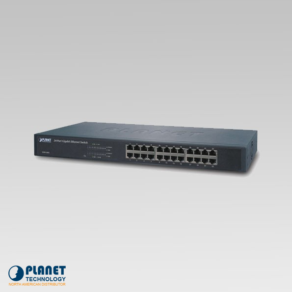 GSW-2401 Gigabit Ethernet Switch 24-Port 10/100/1000Mbps
