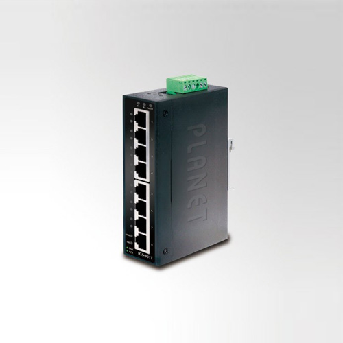 IGS-801T IP30 Industrial Gigabit Ethernet Switch 8-Port 10/100/1000TX (-40 ~ 75C)