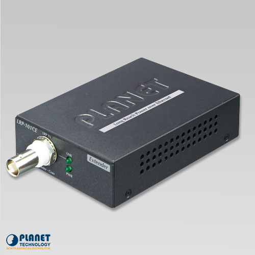LRP-101CE 1-Port Long Reach PoE over Coaxial Extender