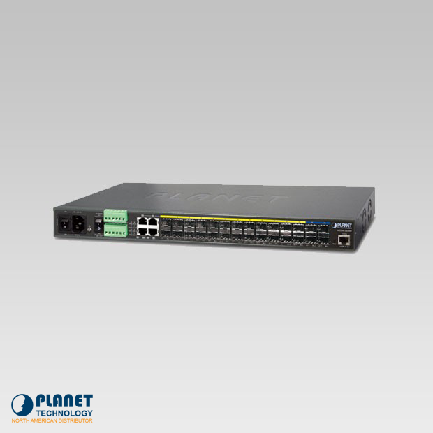 MGSW-28240F L3 24-Port 100/1000BASE-X SFP + 4-Port 10G SFP+ Metro Ethernet Switch