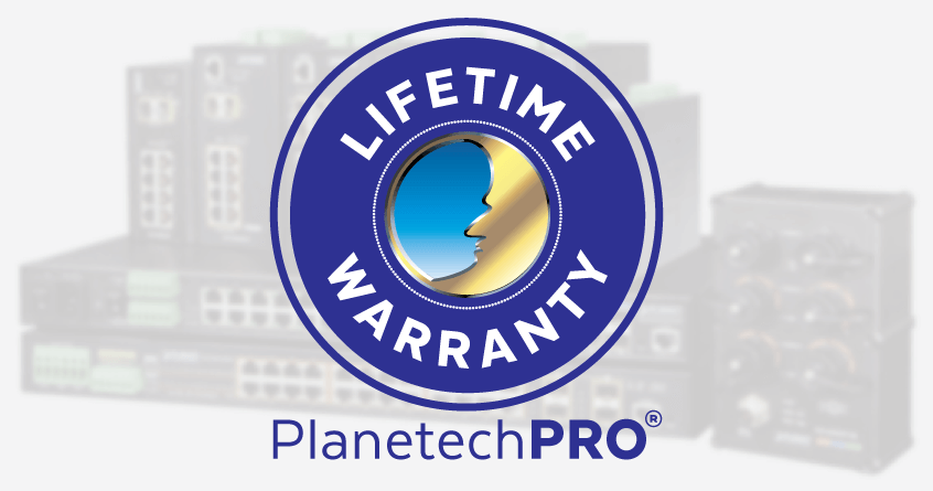Introducing The PlanetechPRO<sup>®</sup> Limited Lifetime Warranty
