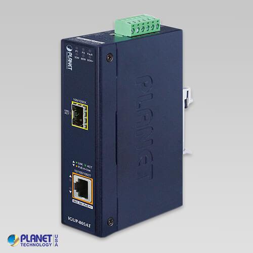 IGUP-805AT Industrial Media Converter