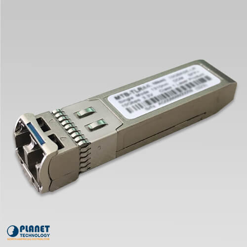MTB-TLR60 10G SFP+ Fiber Transceiver (Single-Mode, 1550nm, DDM) - 60KM (-40~75C)