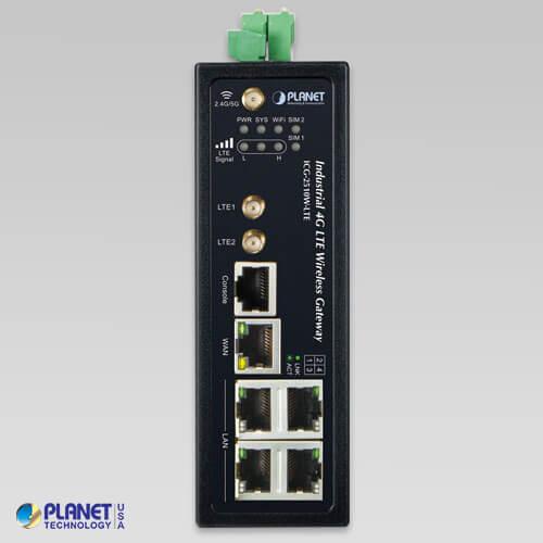 ICG-2510W-LTE-EU Industrial Cellular Gateway Front