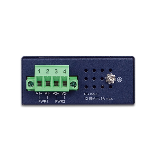 IPOE-260-12V Industrial PoE Injector Top