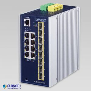 IGS-6325-8T8S Industrial L3 8-Port 10/100/1000T + 8-Port 100/1000X SFP Managed Ethernet Switch