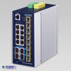 IGS-6325-8T8S4X Industrial L3 8-Port 10/100/1000T + 8-Port 100/1000X SFP + 4-Port 10G SFP+ Managed Ethernet Switch
