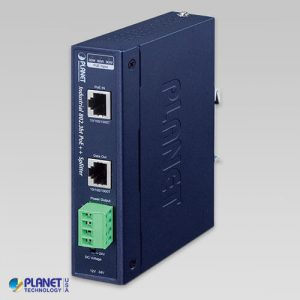 IPOE-173S Industrial Single-Port 10/100/1000Mbps 802.3bt PoE++ Splitter