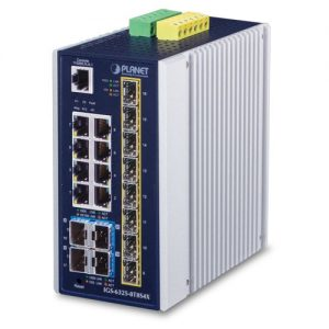 IGS-6325-8T8S4X Industrial PoE Switch