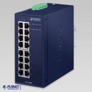 IGS-1600T Industrial 16-Port 10/100/1000T Ethernet Switch