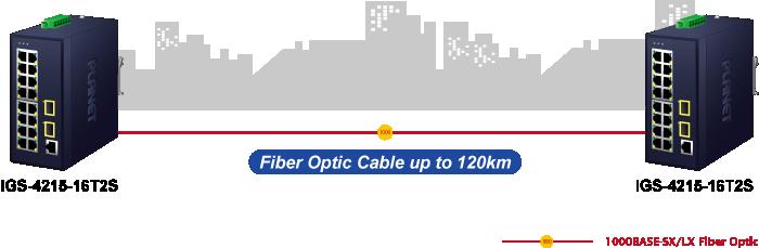 IGS-4215-16T2S Fiber Optic Cable