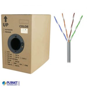CP-350-SD-1K-GY Bulk Ethernet Cable Gray