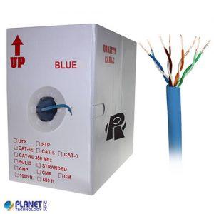 CP-C5E-SDP-BL Bulk Ethernet Cable Blue